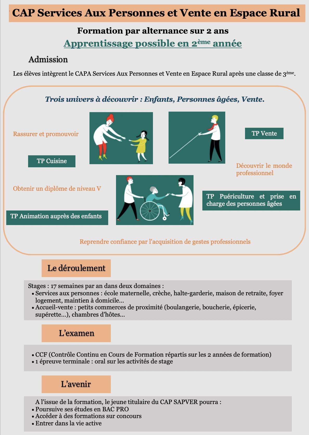 Infographie Capa SAPVER